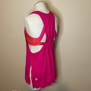 LULULEMON tank top sports bra built in